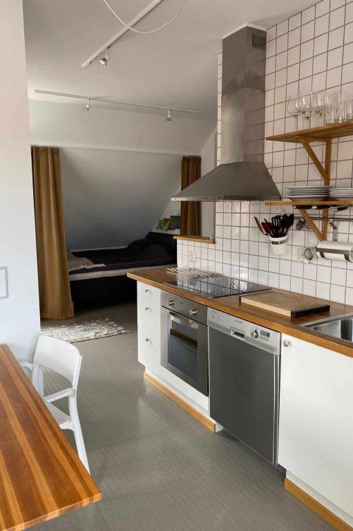 Fågelboet kök och alkov